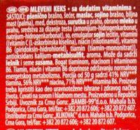 Plazma Mljev.300-Bambi - Ingredients - sr