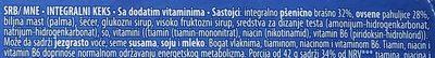 Wellness ovsene pahuljice - Ingrédients
