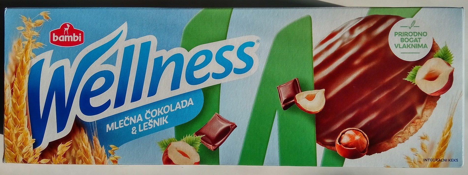 Wellness mlečna čokolada & lešnik - Производ - sr