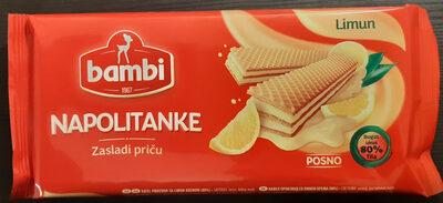 Napolitanke Limun - Produit - sr