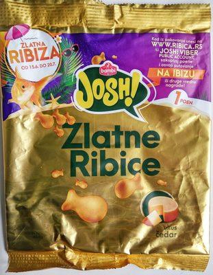 Josh Zlatne ribice ukus čedar - Produkt - sr