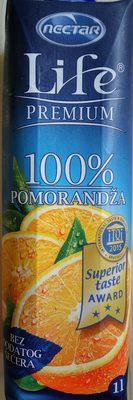 Life premium 100% Orange - Product