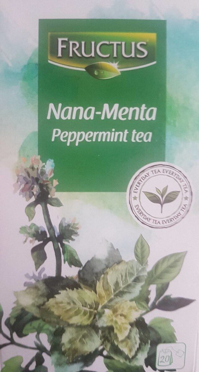 Nana-Menta Peppermint tea - Produit - fr