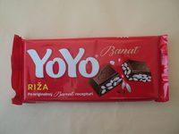 Yoyo Crema de cacao cu orez expandat - Производ - ro