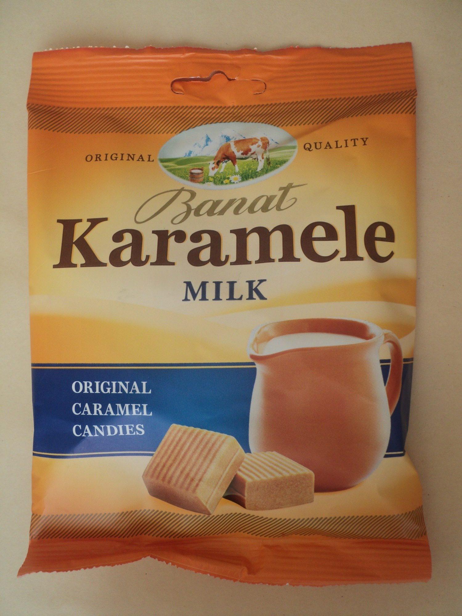 Banat Caramele cu lapte - Product - ro