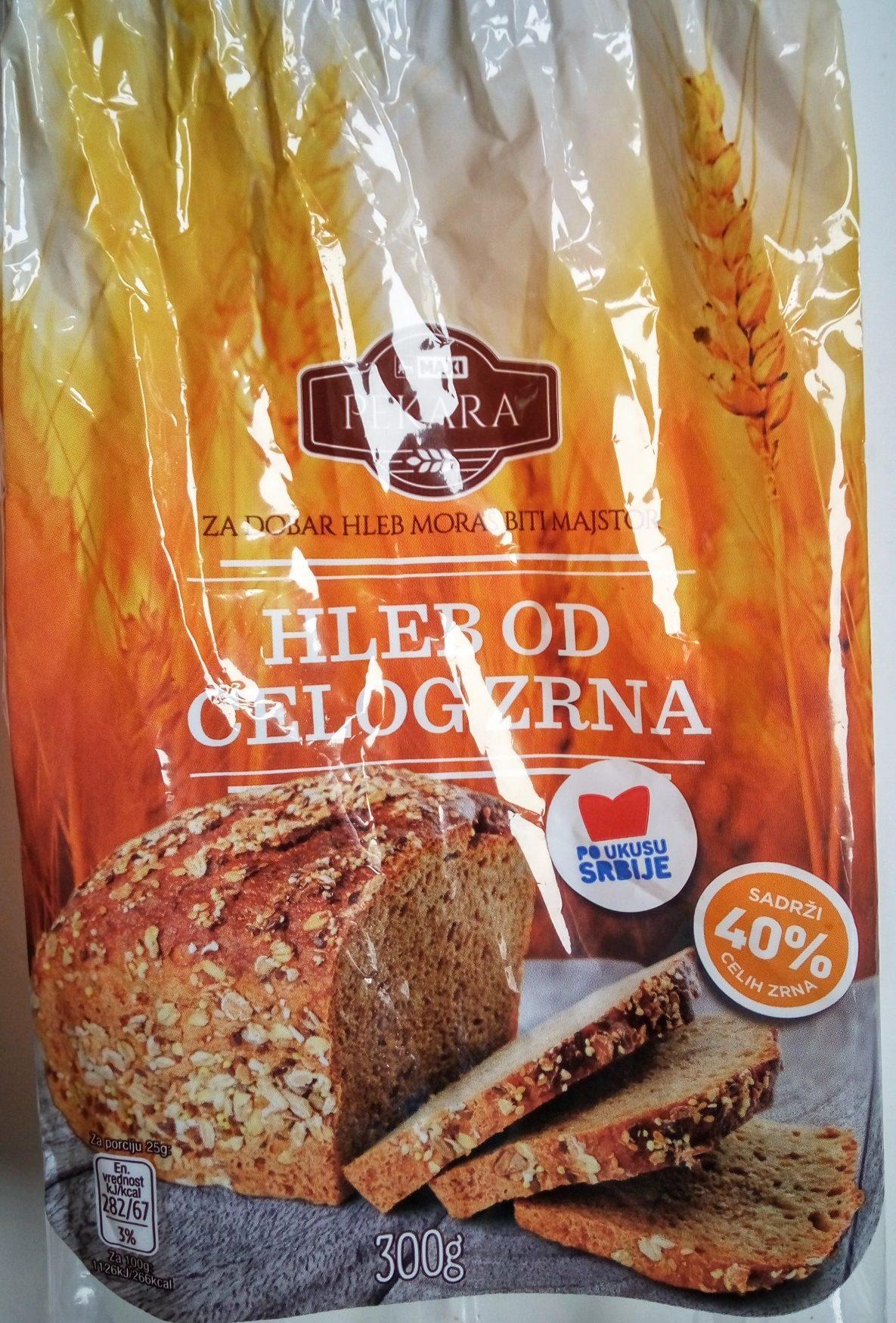 Hleb od celog zrna - Produit - sr