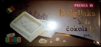 Premia belgijska bela čokolada - Produit - sr