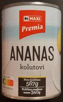 Ananas kolutovi - Produit - sr