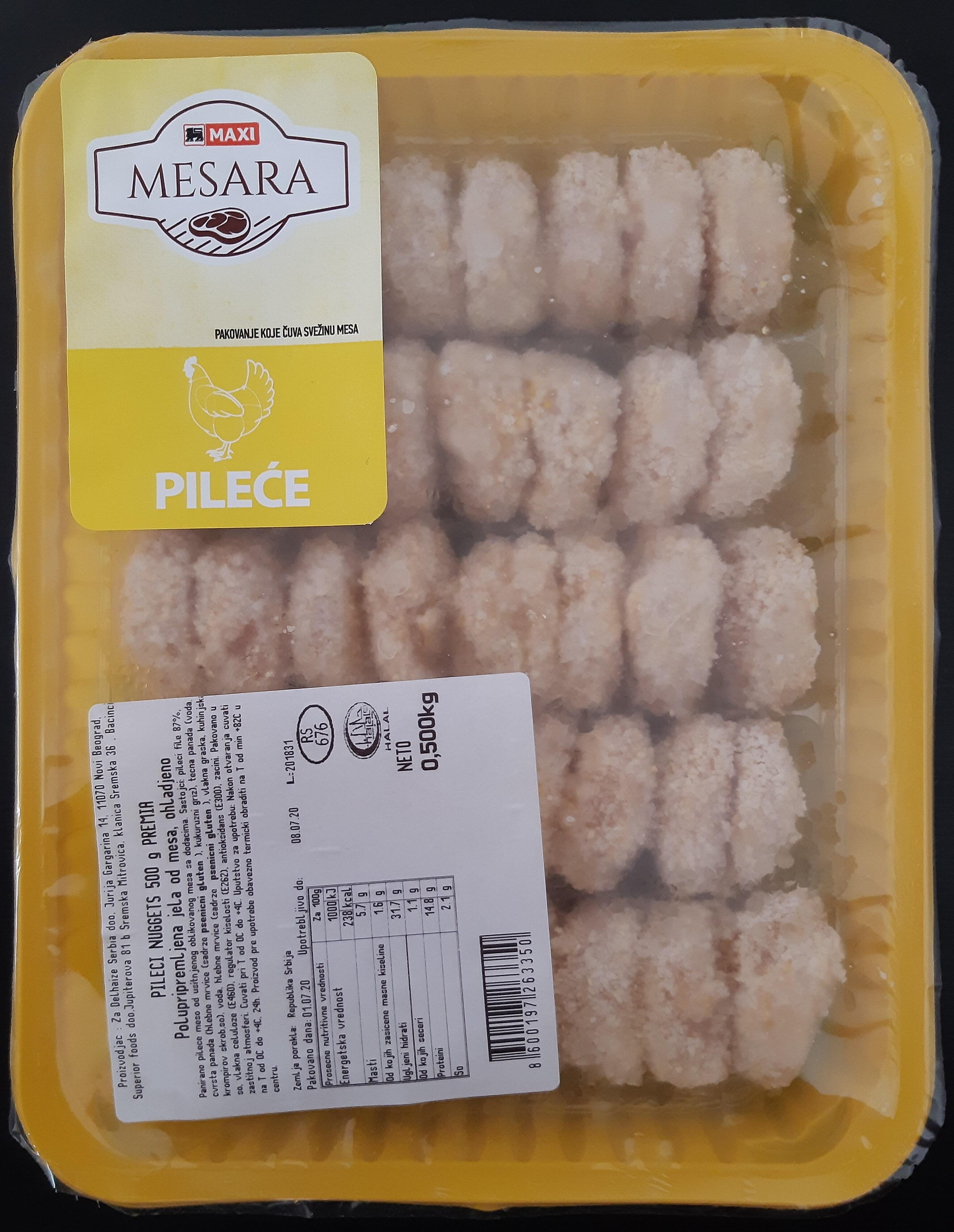 Pileći nuggets - Производ - sr