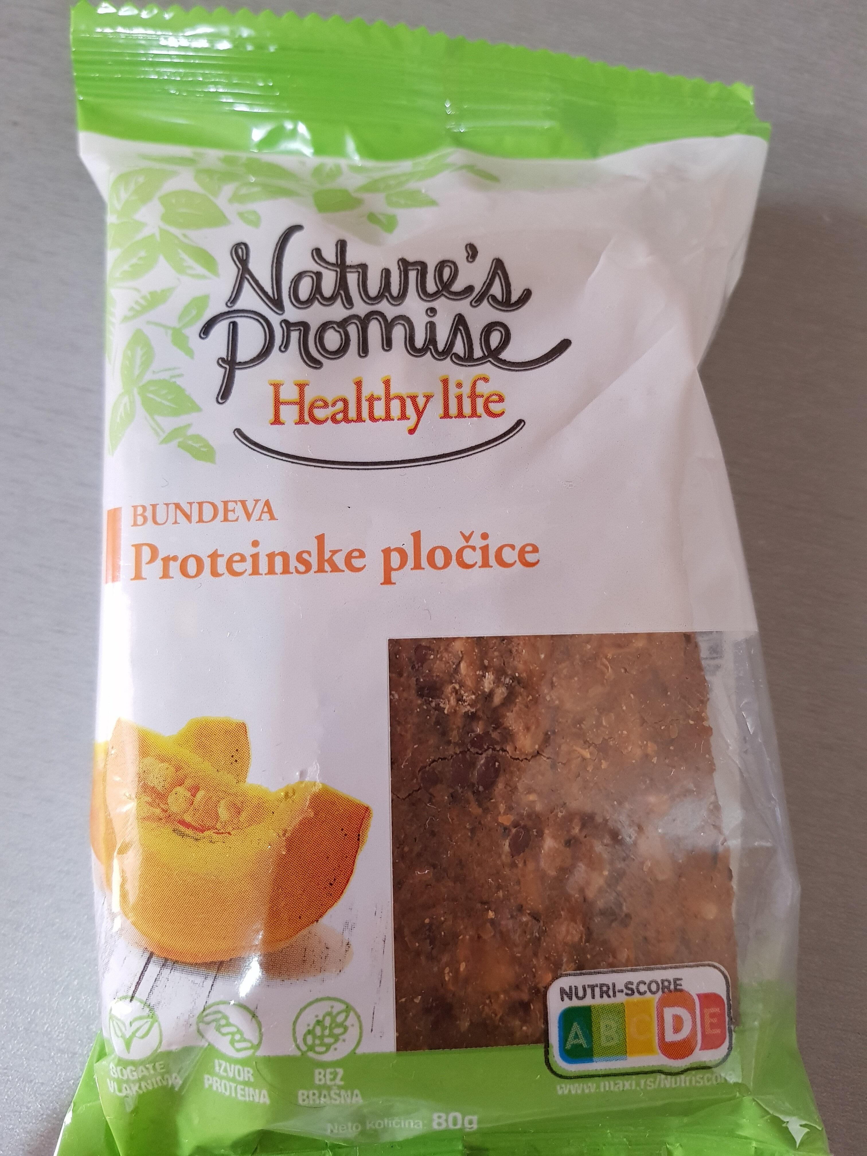 Protein bars - Pumpkin - Производ - en