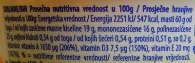 Dobro jutro sa mlekom - Nutrition facts - sr