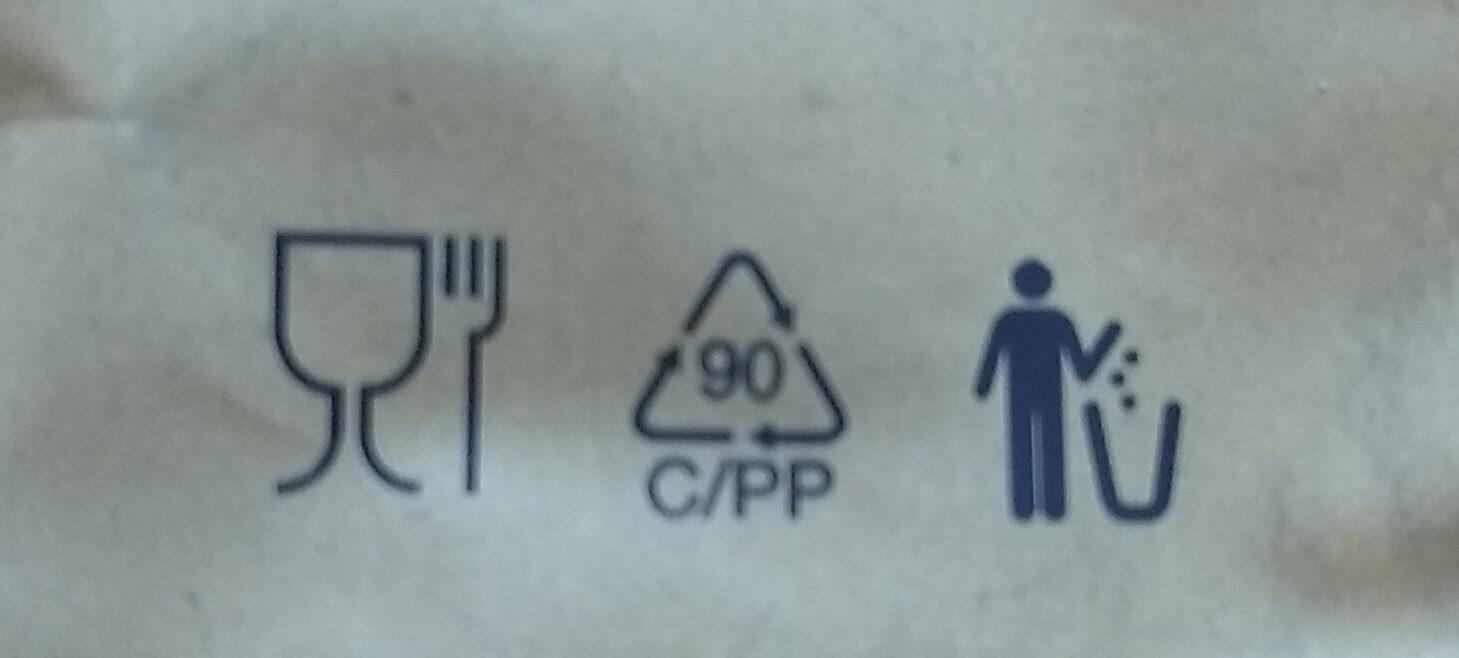 Prima erdnuss - Instruction de recyclage et/ou informations d'emballage - de