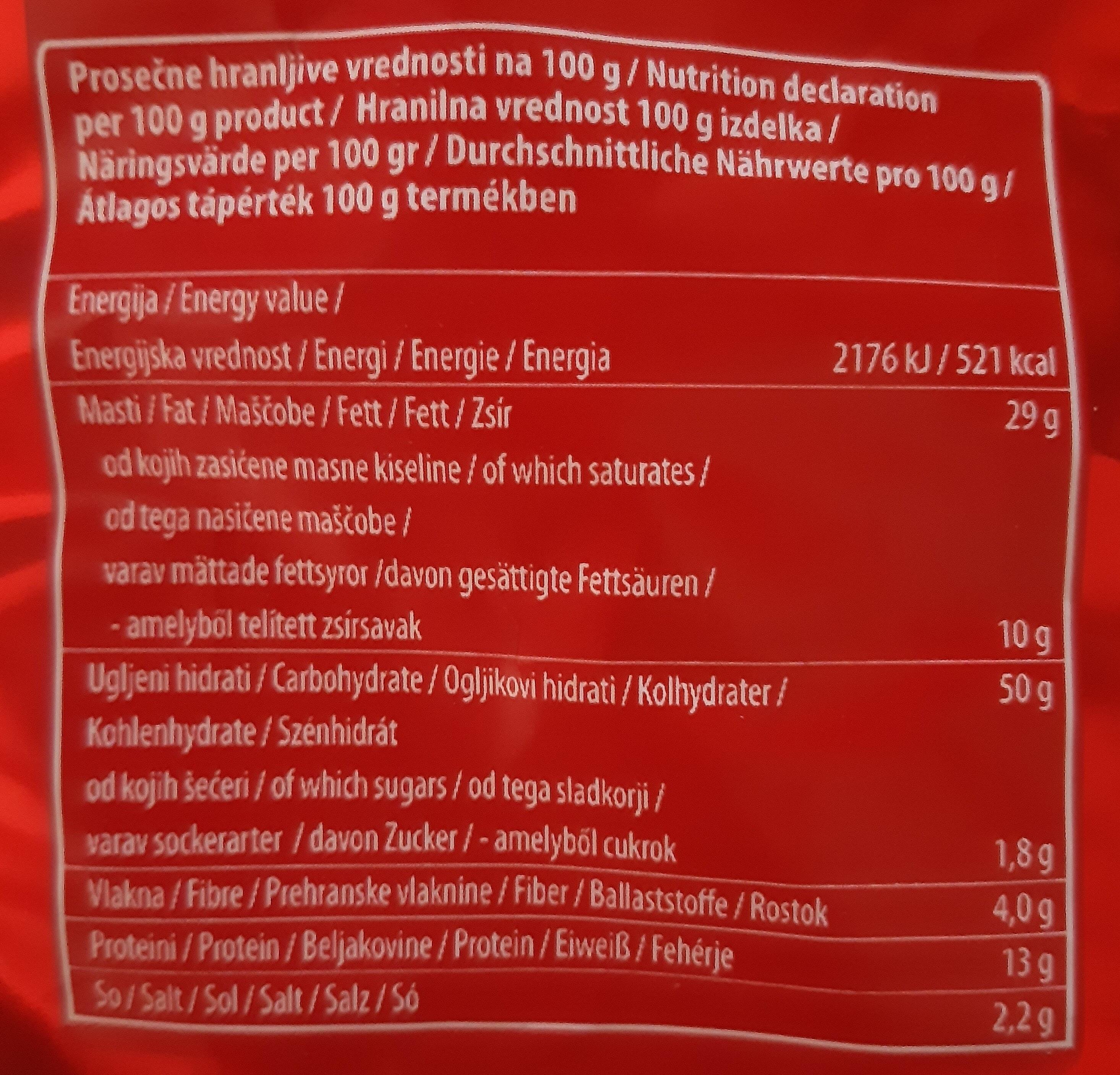 Smoki - Nutrition facts - en