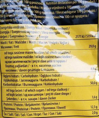 Smoki megahrsker - Nährwertangaben - sr
