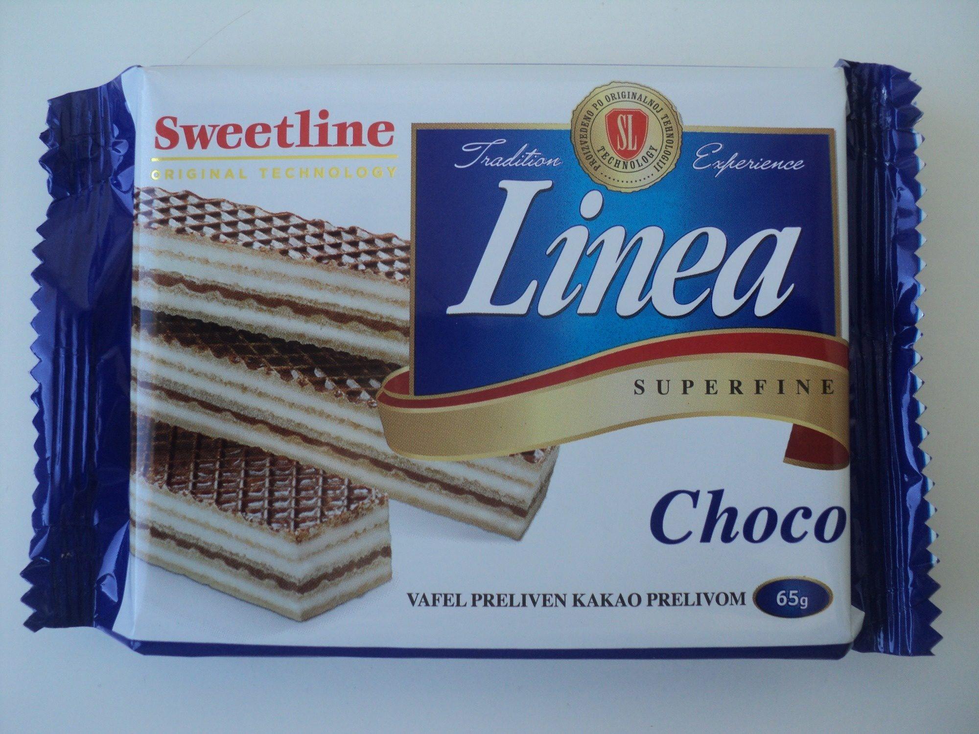 Linea Napolitana cu cuvertura de cacao - Производ - ro
