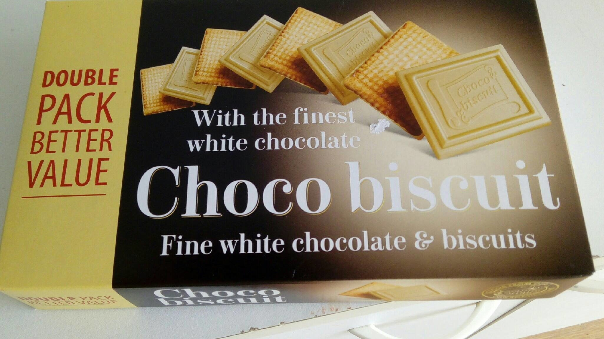 Choco biscuit blanc - Product