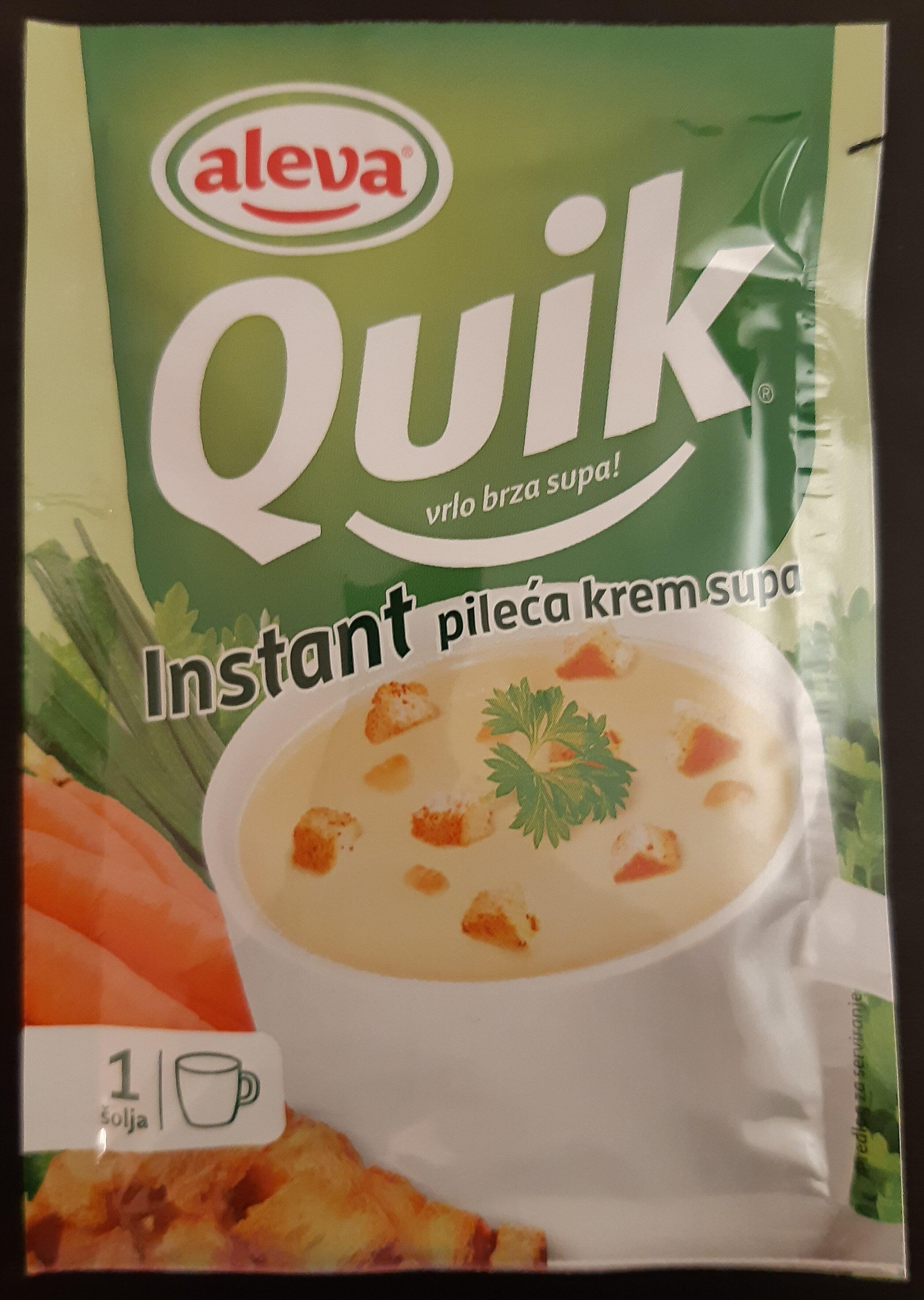 Quik instant pileća supa - Product - sr