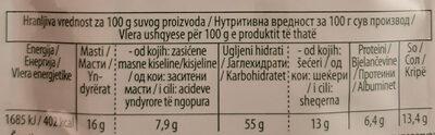 Quik instant pileća supa - Nutrition facts - sr
