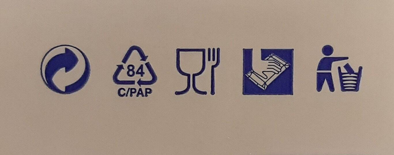Moja Kravica dugotrajno mleko - Instruction de recyclage et/ou informations d'emballage - sr