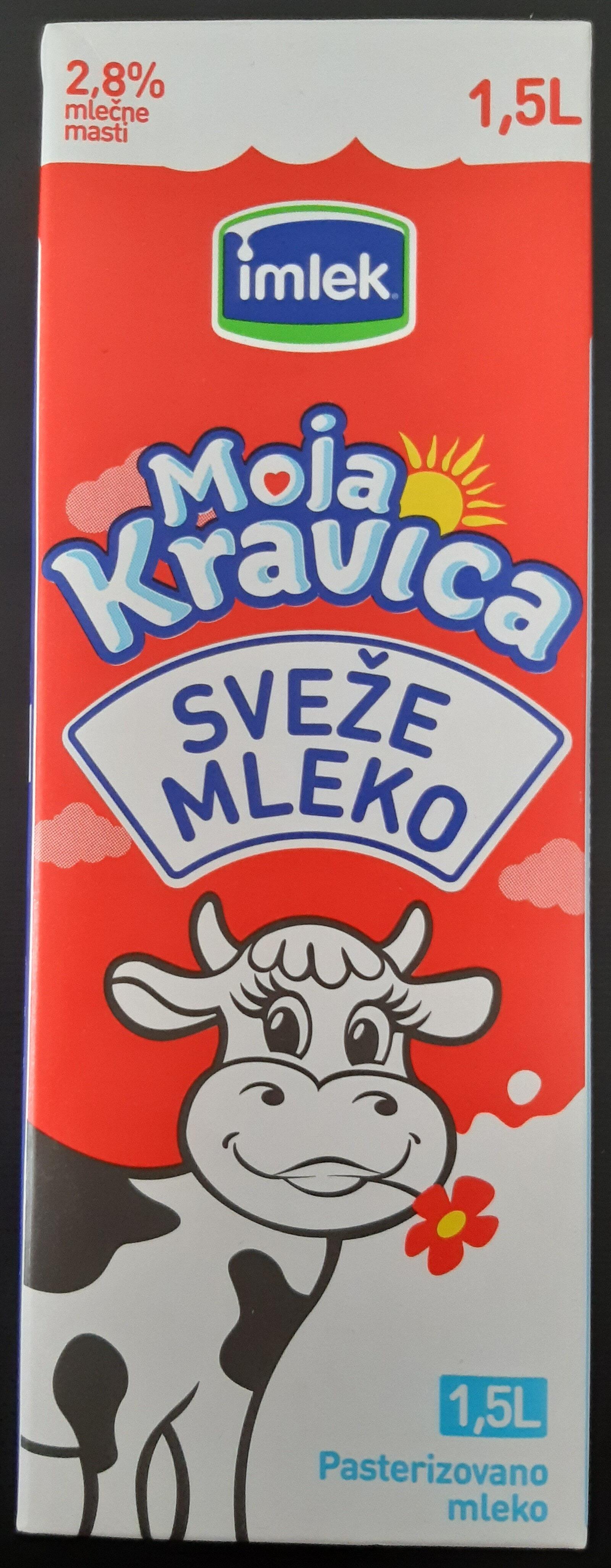 Moja Kravica sveže mleko - Produit - sr