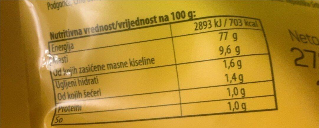 Majonez K plus - Informations nutritionnelles - fr