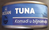 Tuna komadi u biljnom ulju - Produkt - sr