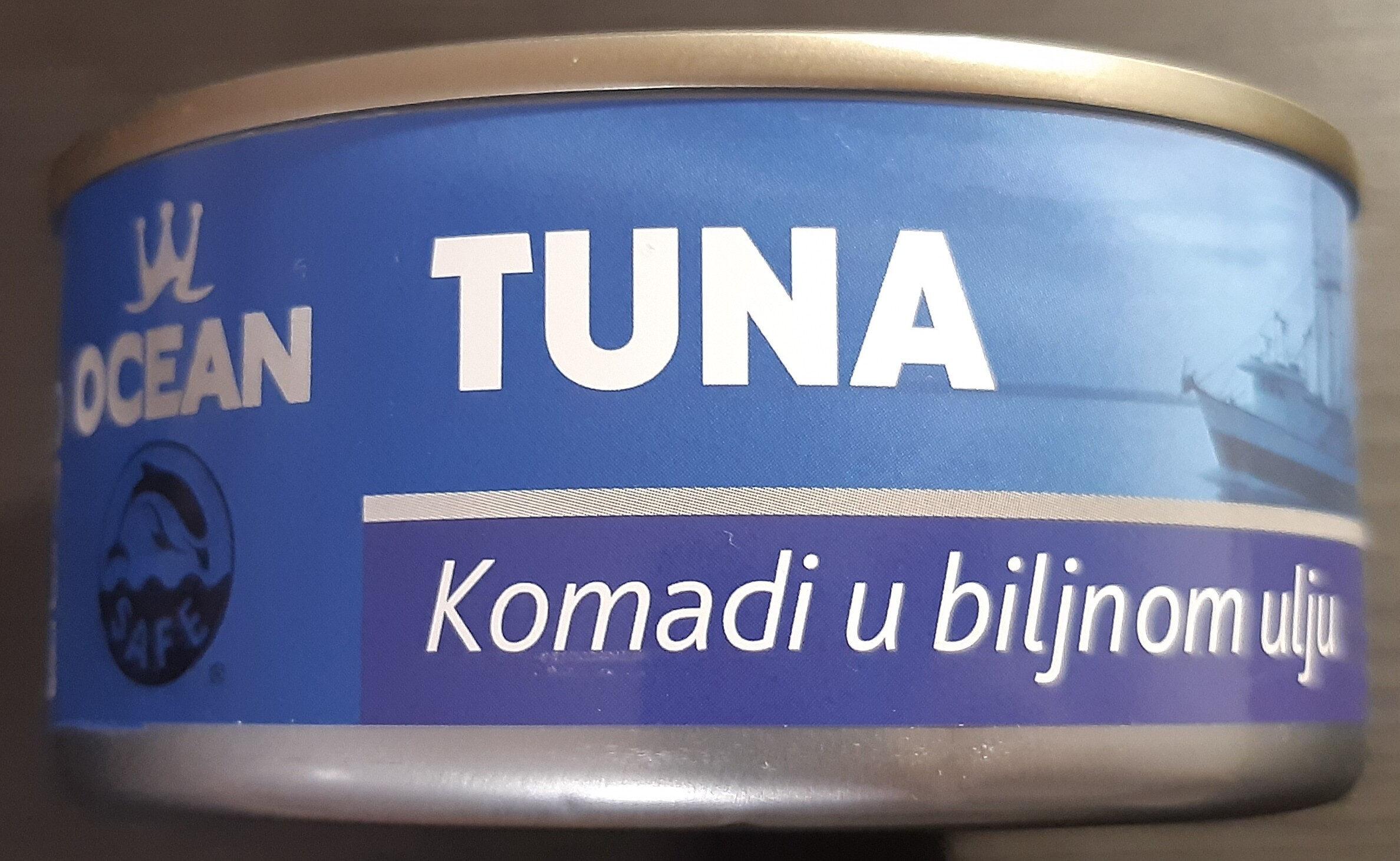 Tuna komadi u biljnom ulju - Prodotto - sr