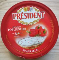 Premium topljeni sir - paprika - Produit
