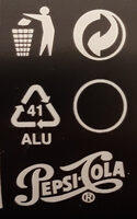 Pepsi Lime - Instruction de recyclage et/ou information d'emballage - sr
