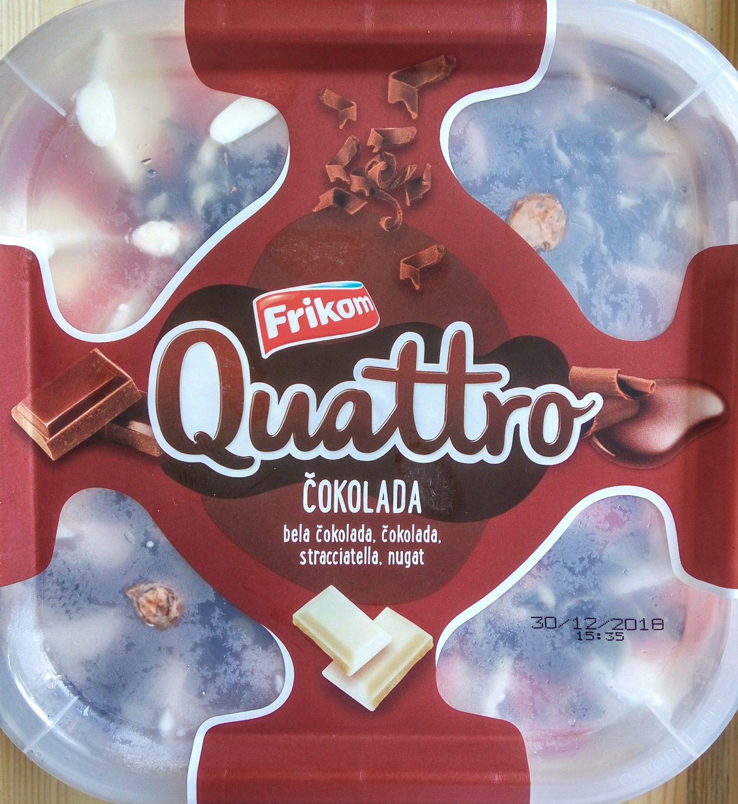 Quattro Čokolada - Produit