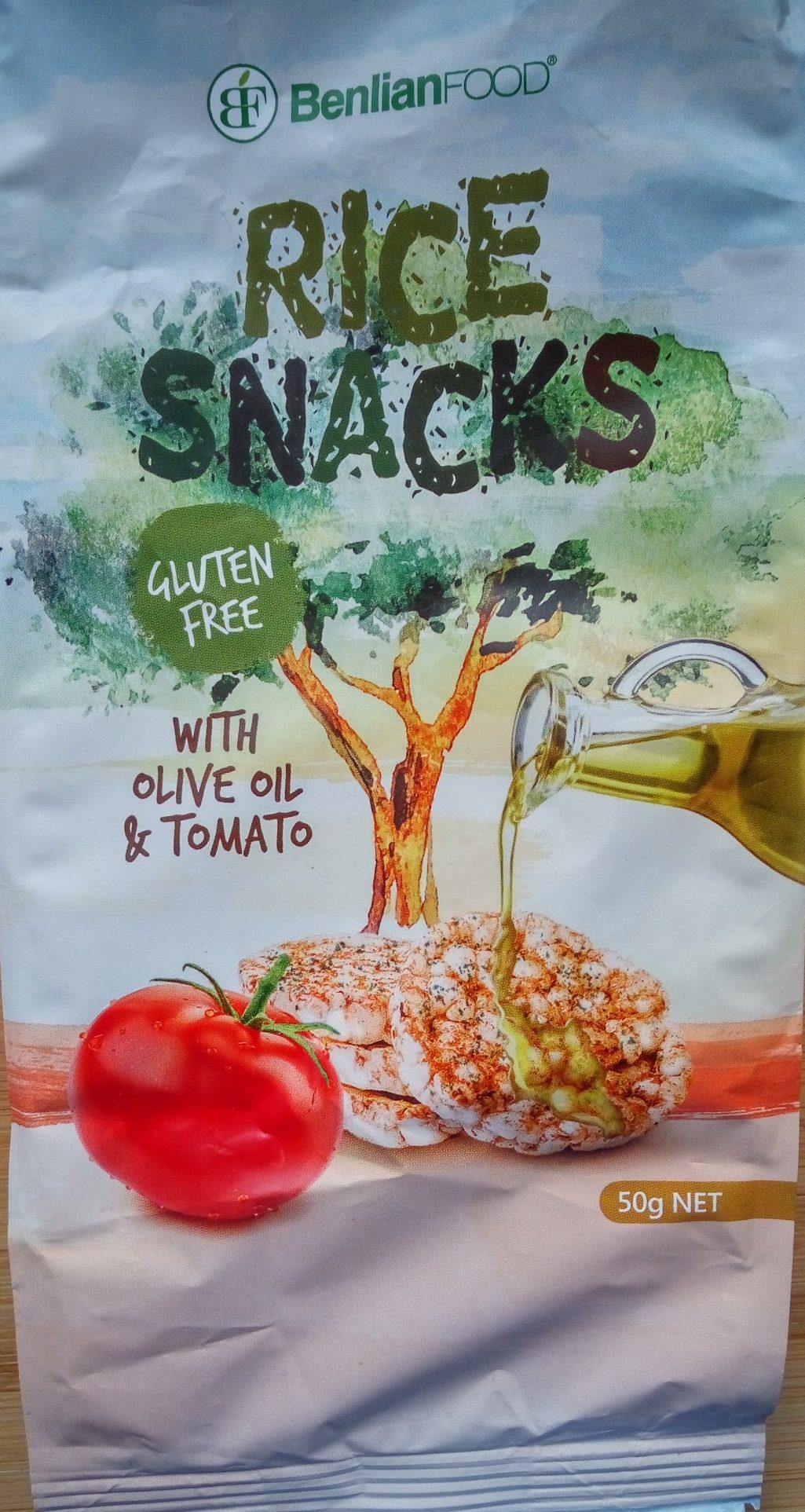 Rice snack tomate - Производ - sr
