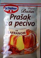 Prašak za pecivo sa šafranom - Produit