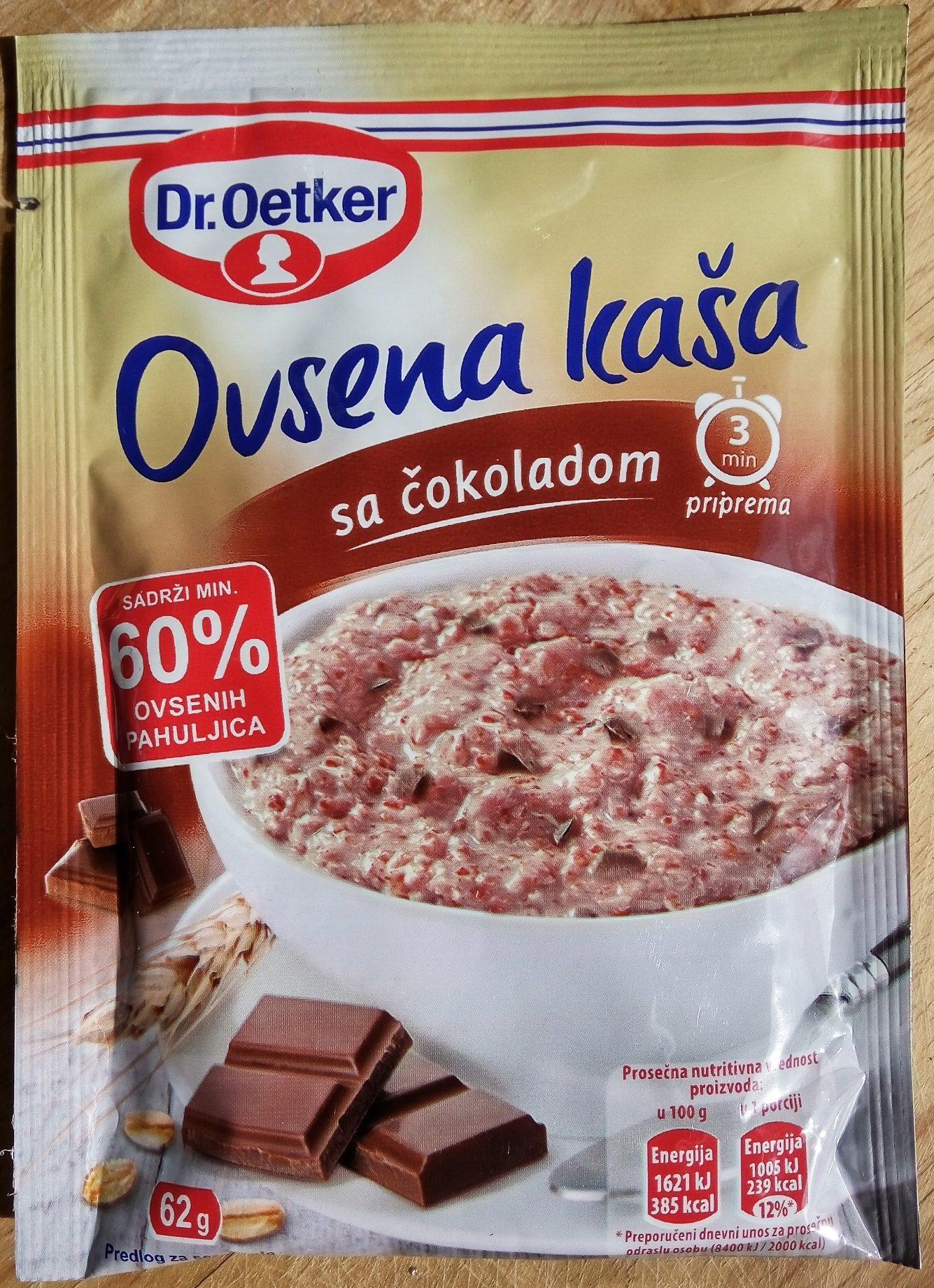 Ovsena kaša sa čokoladom - Производ - sr