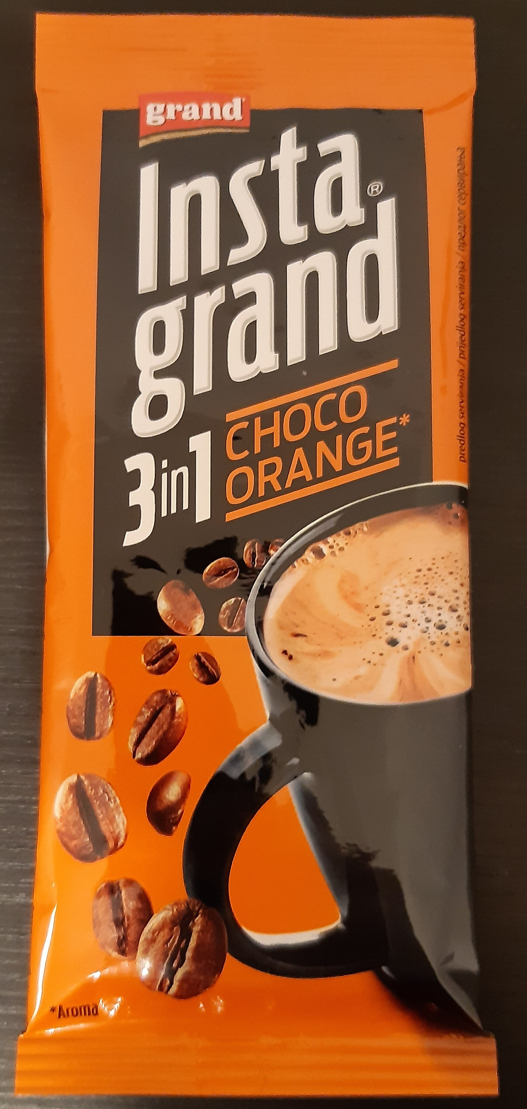 Insta grand 3 in 1 Choco orange - Produit - sr