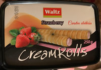 Creamrolls strawberry - Produit - sr