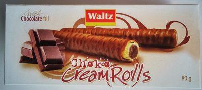 Choko cream rolls - Производ