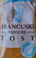 Francuski brioche tost - Produit - sr