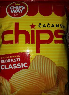 Čačanski chips - Product