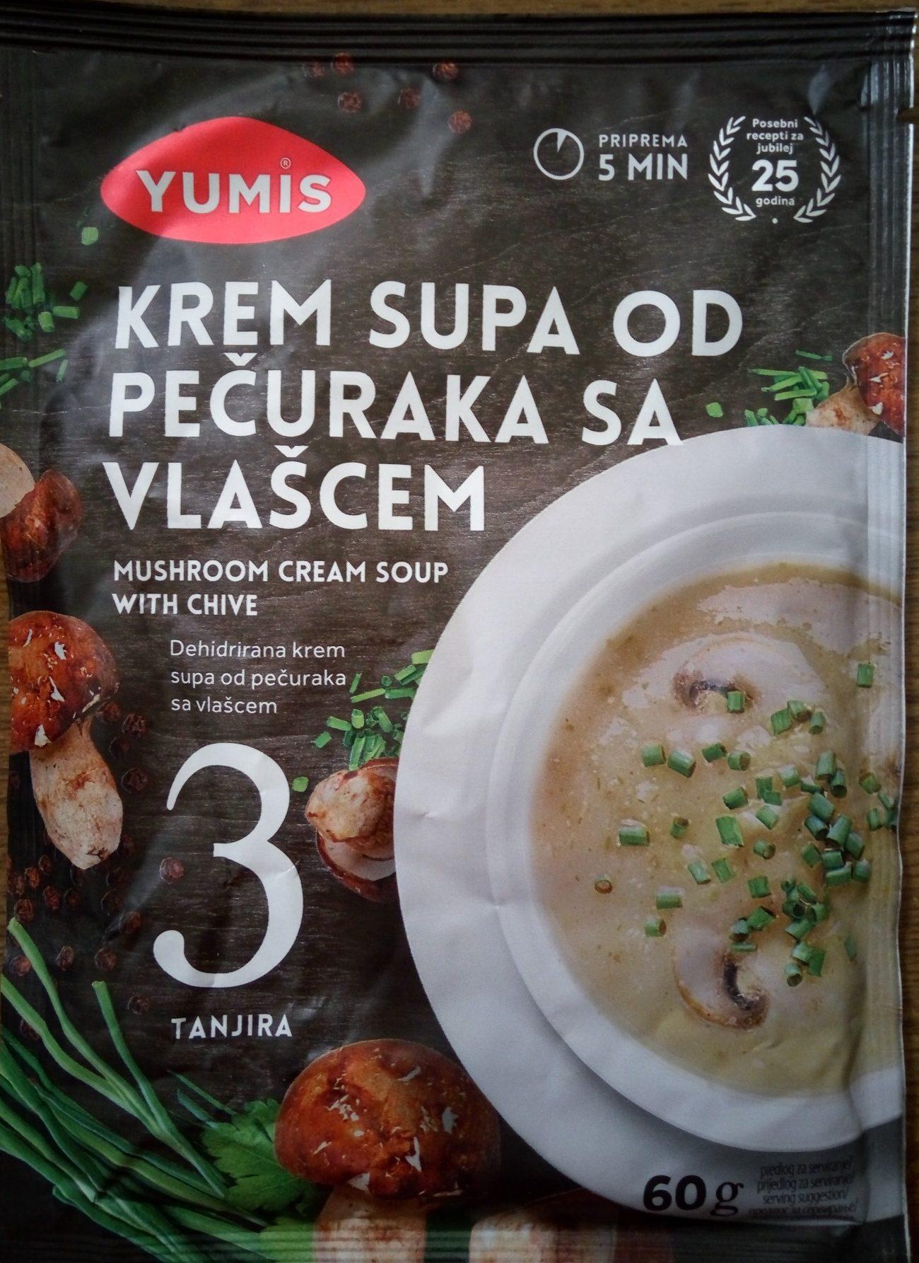 Krem supa od pečuraka sa vlašcem - Product - sr