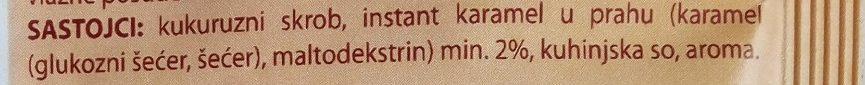 C Puding karamel - Ingredients - sr