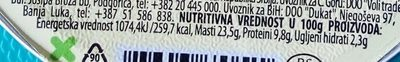 Smazalice pileća pašteta - Nutrition facts - sr