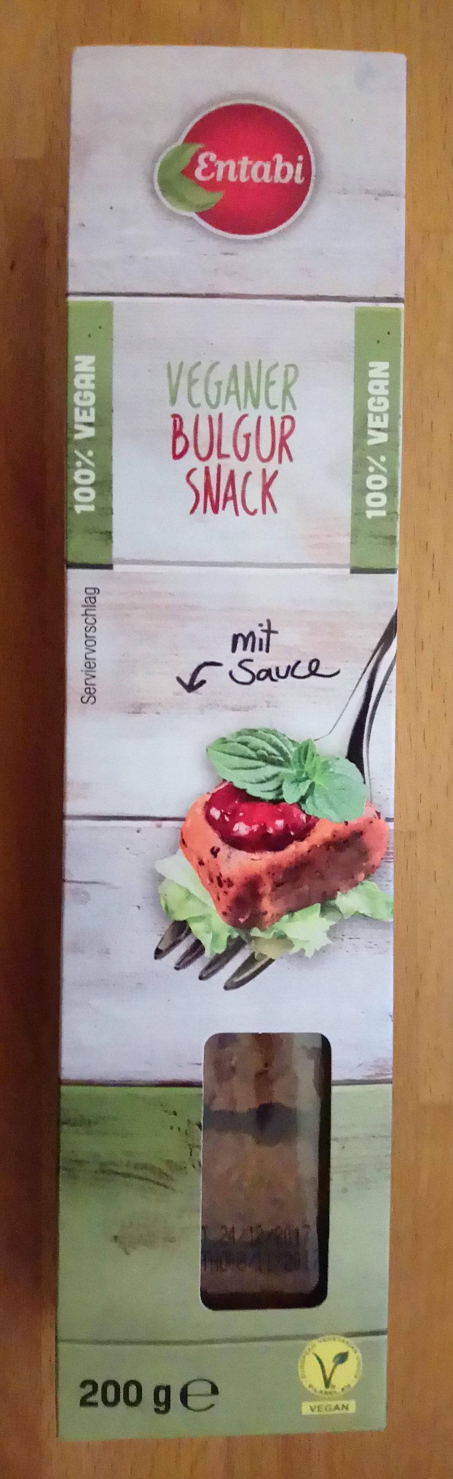 Veganer Bulgur Snack - Produit