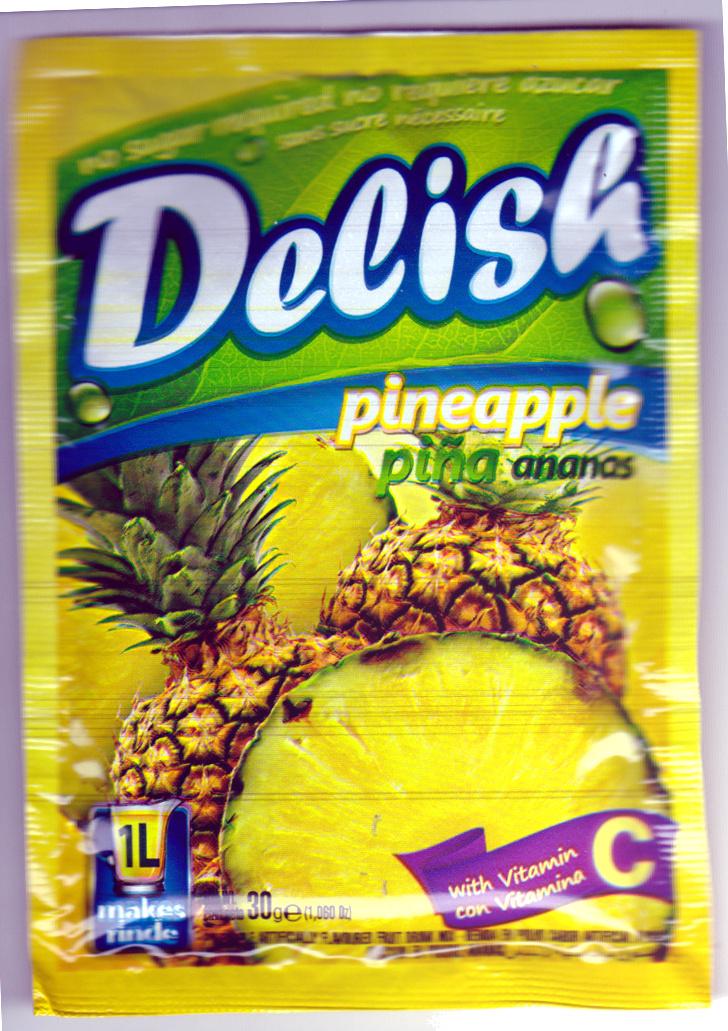 Boisson en poudre Ananas - Delish - 30 g