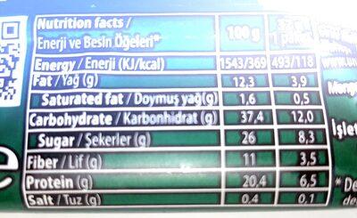 Uniq2go Crunchy Peanutpaste VEGAN - Informations nutritionnelles - en