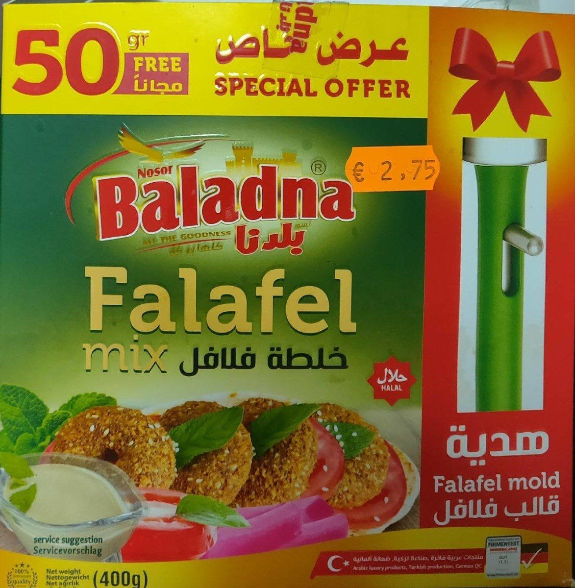 falafel mix - Produit - fr