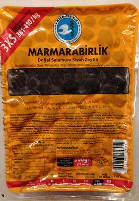 Natürliche schwarze Oliven - Produkt - de
