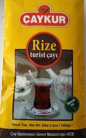 Rize Turist Black Tea - Produit - en