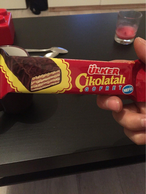Gofret Cikolatali, Schokolade - Prodotto - fr
