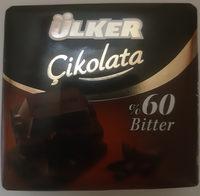 Bitter Çikolata - Produkt