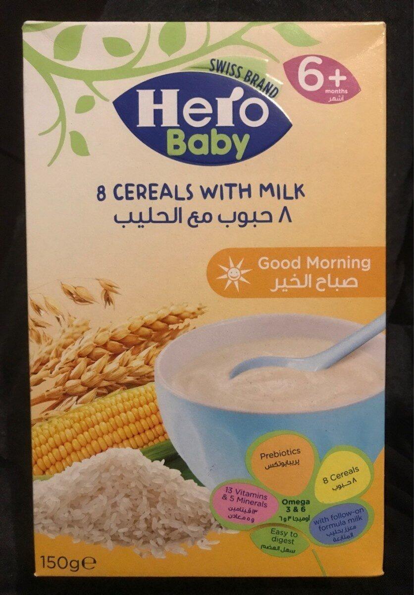 8 cereals - Produit - fr